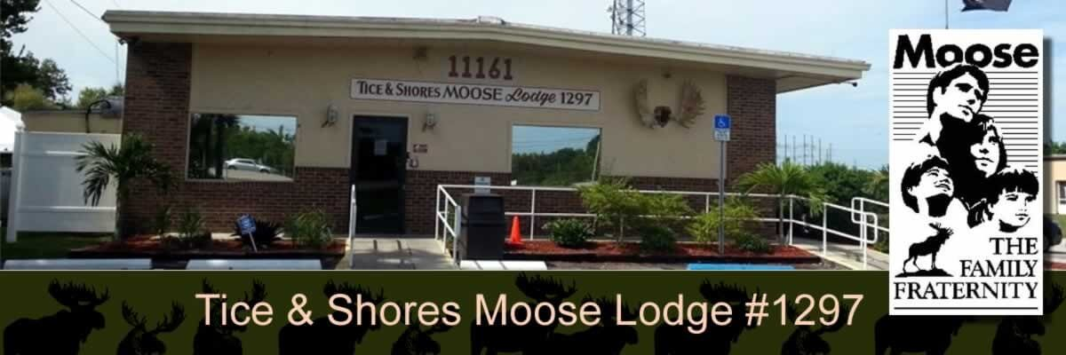 Tice and The Shores Mose Lodge1297 & Chapter 652 building.